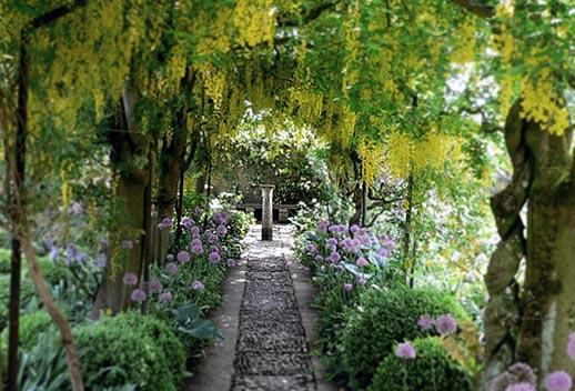La casa m gica el jard n exterior pt 1 for El jardin magico